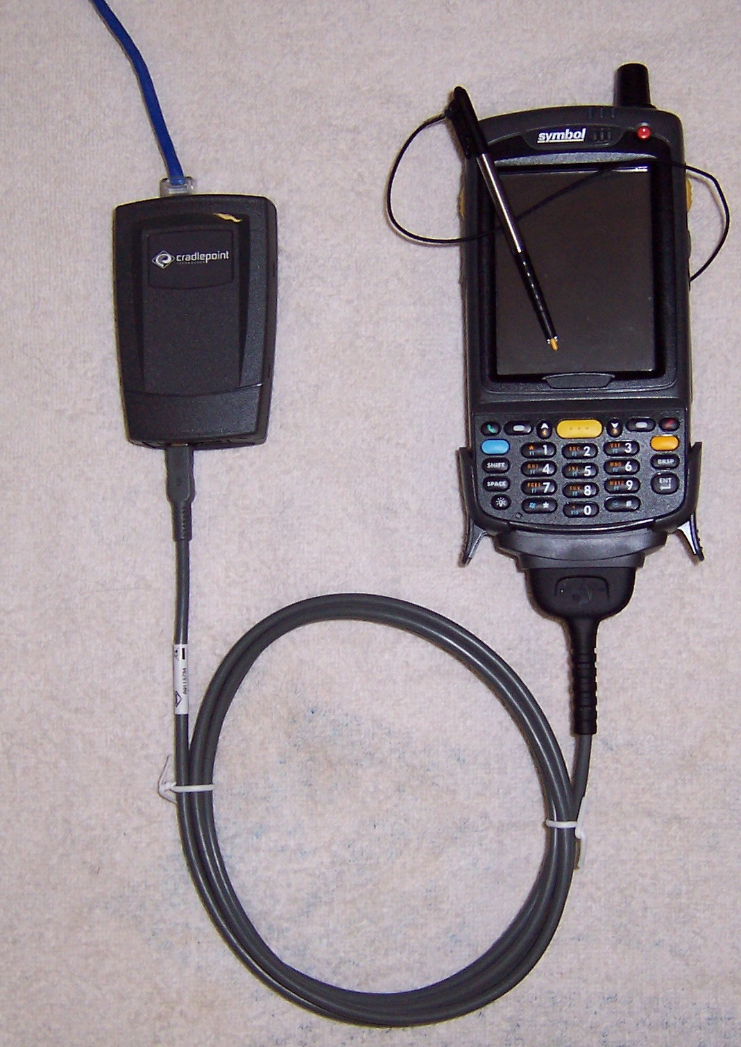 motorola mc75 mobile computer